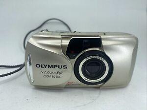 Used Olympus Stylus Epic Zoom 80 35mm Film Camera Tested Works