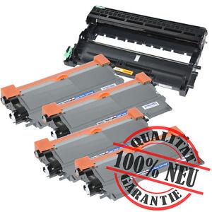 4 Toner & Trommel kompatibel zu Brother TN-2220 DR-2200 HL-2130 HL-2130R HL-2132