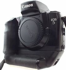 CANON EOS 5 Film SLR Camera Body Only With Canon Vertical Grip VG10 - W40