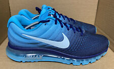 Nike Air Max 2017 Running Shoes Mens Size 13 Binary Blue 849559-404