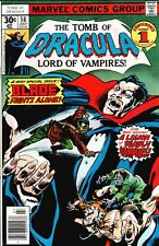 TOMB OF DRACULA #58 BLADE VAMPIRE HUNTER APPEARANCE VF/NM 9.0