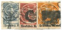 GERMANY #271-273 USED