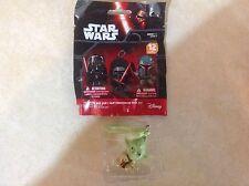 Star Wars Character Bag Clip Keychain Yoda Disney