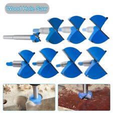 15mm-80mm Wood Hinge Hole Saw Drill Bits Set Cutter Hard Alloy Carbide Kit Tool