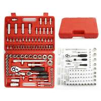 94Pcs Professional Socket Set Screwdriver Bit Torx Ratchet Driver Tool Case Kit