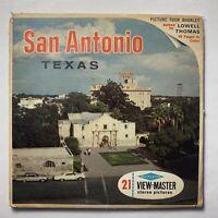 Sawyers View-Master San Antonio, Texas - 3 Reel Set A420