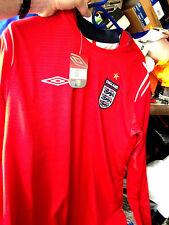 ENGLAND SHIRT 2002/4 HOME SHIRT IN LARG orXXLEAT £20  long SLEEVE BNWL