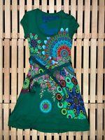Womens Dress Desigual Multicolor Size S Small
