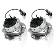 2 x Complete Pair Front Wheel Hub and Bearing Assembly Auto Accessories Warranty