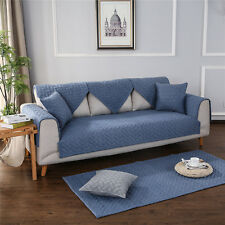 100% Cotton Sofa Furniture Protector Slipcover Keeps Furniture Safe