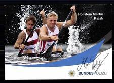 Martin Hollstein TOP Autogrammkarte Original Signiert Kajak +A 75624