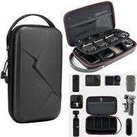 Waterproof TELESIN Portable Storage Bag Carrying Case for GoPro Hero 9 8 7 6 5 4