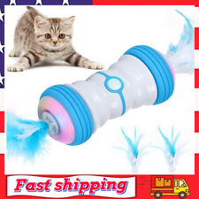 Interactive Feather Cat Toy Robotic Cat Toys Automatic Feathers Toy for Kitten