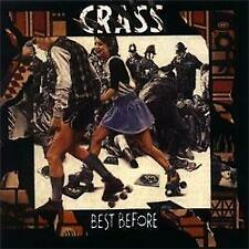 """New listing New Music Crass """"Best Before 1984"""" 2xLP"""