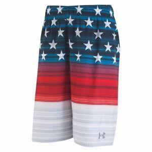 Under Armour Boy's Volley Board Shorts Swim Trunk USA Small Medium Large XL NWT