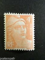 FRANCE - 1948 - yvert 808 - Marianne Gandon - neuf**