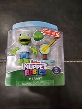 Dusney Junior Muooet Babies Kermit With Banjo Poseable Figure