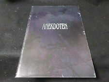 Anekdoten 1997 Japan Tour Book Concert Program PROG King Crimson