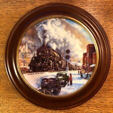 """Hamilton Train Plate Collection """"Coal Country"""" Limited Plate Nr. 0957B"""