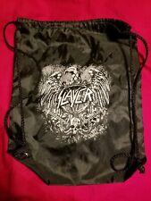 Slayer 2019 Final Campaign Vip Tour Merch Drawstring Sinch Bag Nylon New
