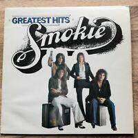 Smokie Greatest Hits UK vinyl LP album record SRAK 526 B-3 (1977)