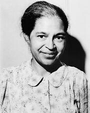 1964 Civil Rights Activist ROSA PARKS Glossy 8x10 Photo Womens Rights Print