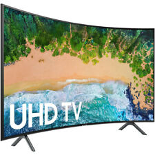 """Samsung 7300 UN65NU7300 64.5"""" Curved Screen Smart LED-LCD TV - 4K UHDTV - Charco"""