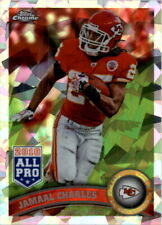 2011 Topps Chrome Crystal Atomic Refractors Chiefs Card #73 Jamaal Charles /139