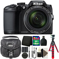 Nikon Coolpix B500 16MP Point and Shoot Camera with 8GB Accessory Bundle
