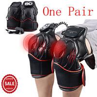 Leg Knee Joint Arthritis Pain Physiotherapy Massager Heat Vibration Brace Wrap