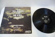 LA BELGIQUE VUE DU CIEL LP OST DANIEL DEJEAN. JACQUES BREL. BARCLAY FRENCH.