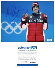 Mark McMorris Signed 2018 Olympics Bronze Medal 8x10 Photo EXACT Proof ACOA B