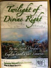 TWILIGHT OF DIVINE RIGHT -BY THE SWORD DIVIDED : ENGLISH CIVIL WAR SCENARIOS