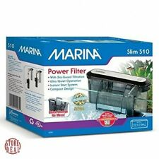 Pet Supplies Aquarium Power Filter Compact Slim Home Indoor Filtration Marina