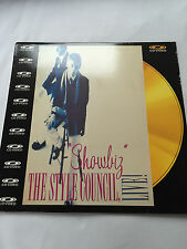 The STYLE COUNCIL LASER DISC Showbiz
