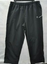 Fila Sport Mens Zip Ankle Dark Gray Knit Fabric Track Athletic Pants