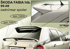 SPOILER REAR ROOF SKODA FABIA MK1 WING ACCESSORIES