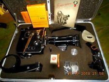 BOLEX PAILLARD-CINEPRESA PROFESSIONALE 16 mm- CORREDO IN VALIGIA-