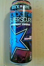 1 Volle Energy drink Dose # Rockstar Super Sour Raspberry Rock am Ring 2015 Can
