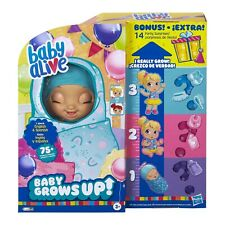 New Baby Alive Baby Grows Up (Happy) - Happy Hope or Merry Meadow - Growing Doll