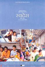 SWADES Movie POSTER 27x40 Shahrukh Khan Gayatri Joshi