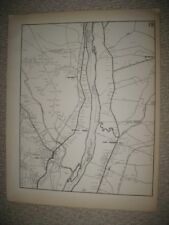 ANTIQUE 1931 EAST & WINDSOR HAYDEN SCANTIC HARTFORD COUNTY CONNECTICUT MAP RARE