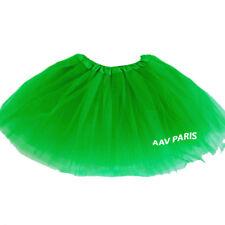 Tutu de Ballet Danse Soirée Jupe Jupon pour filles -  taille unique - vert foncé