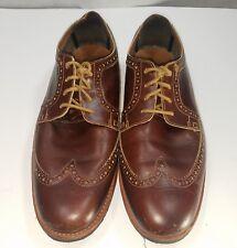 Timberland Oxford Wingtip Kempton Brogue Shoe Reddish Brown 9228B Mens Size 11.5