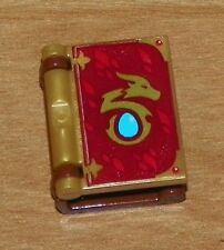 LEGO - Minifig, Utensil Book Cover with Dragon Egg Pattern - Pearl Gold