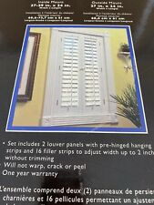 Allen Roth Wooden Window Shutters For