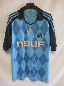 Maillot OLYMPIQUE de MARSEILLE diamant ADIDAS 2009 OM away shirt maglia jersey M