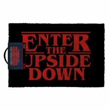 Stranger Things Enter The Upside Down Doormat Entrance Welcome Mat - Home