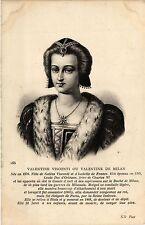 CPA Valentine Visconti ou Valentine de Milan Royalty Nobelty (315299)