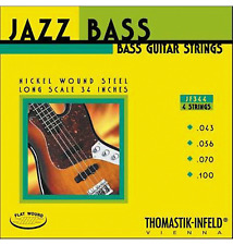 Thomastik-Infeld JF344 T-I Jazz Flatwound Bass Guitar Strings - Long Scale